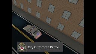 ROBLOX || Toronto Police Operations Patrol #1