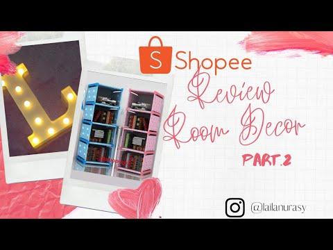 shopee review product: room decor || dekorasi kamar