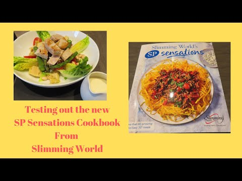 Testing Out The New Slimming World SP Sensations Cookbook From Slimming World