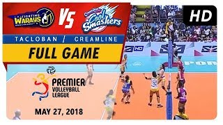 PVL RC Season 2 - WD: Fighting Warays vs. Cool Smashers | Full Game | 1st Set | May 27, 2018