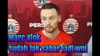 Selangkah Lagi Jadi WNI, Marc Klok senang bisa membela timnas indonesia