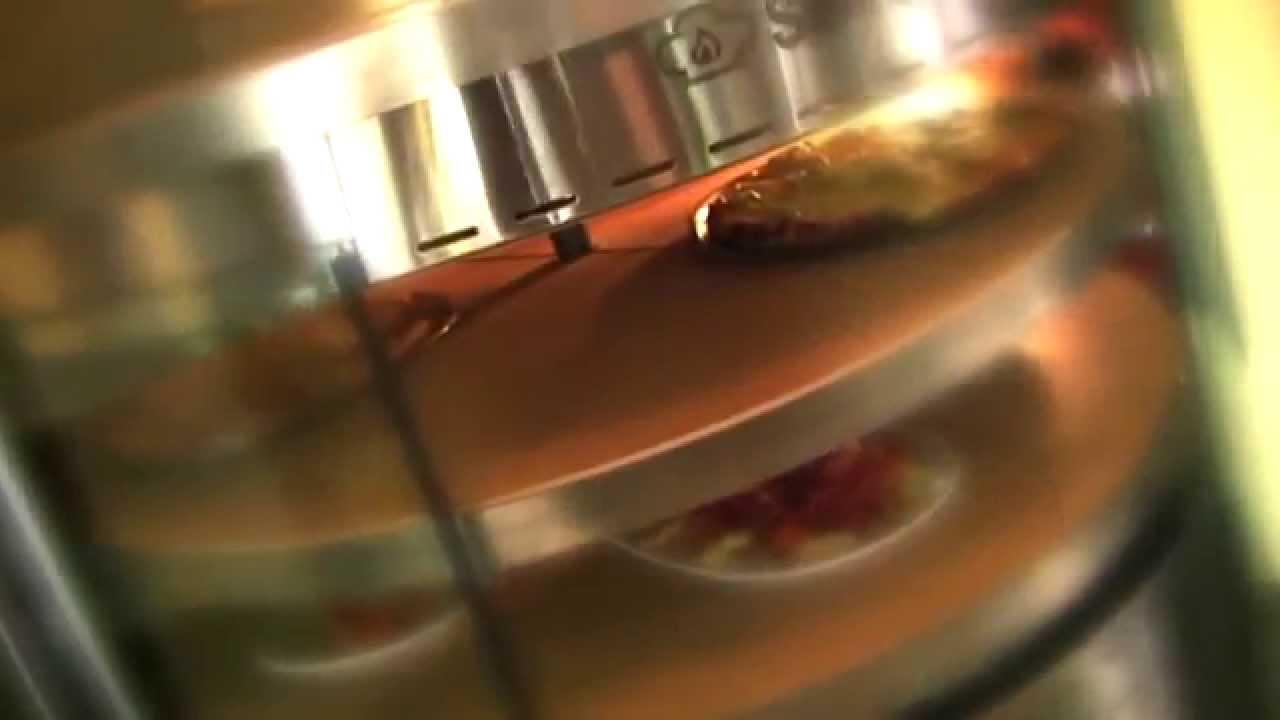 promoshop four pizza rotatif gaz 8 24 pizzas youtube. Black Bedroom Furniture Sets. Home Design Ideas