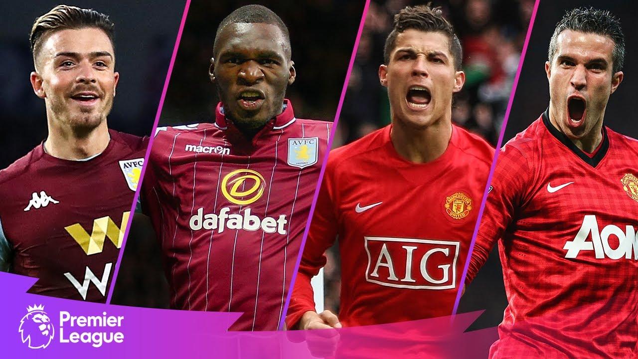 Aston Villa vs Manchester United | Classic Premier League Goals | Grealish, Ronaldo, Benteke