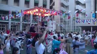 2016.7.22 四町会合同納涼盆踊り大会 日本橋小学校 日本橋音頭