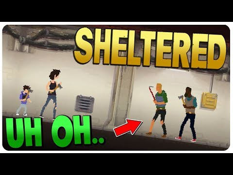 Last Days of SURROUNDED Mode, Bunker Preparation! - Sheltered Game Update 1.7