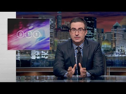 Last Week Tonight with John Oliver: 911 (HBO)
