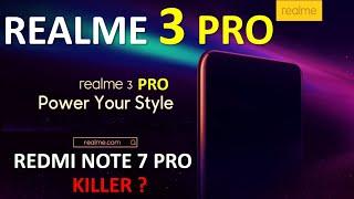 Realme 3 Pro - In India | Specs | Camera | Battery | Performance |  Realme 3 Pro Vs Redmi Note 7 Pro