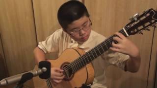 Kotaro Oshiro - Wind Song on classical Guitar 風の詩
