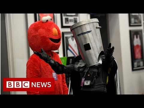 Bunty, Buckethead, Binface - and Boris Johnson - BBC News