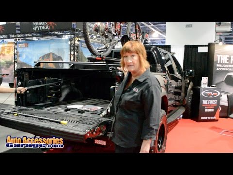 Truck Covers Usa American Roll Tonneau Cover Auto Accessories Garage Youtube
