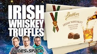 Irish Whiskey Chocolate Truffles - Made With Actual Whiskey - Dudes N Space