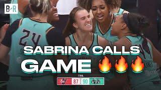 Sabrina Ionescu Hits WILD Game-Winner On WNBA Opening Night