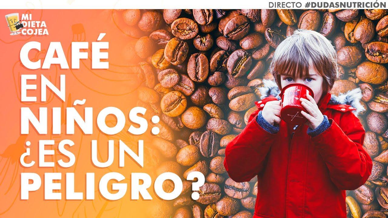¿Pueden tomar café los niños? ¿Y descafeínado?