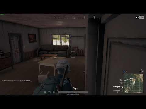 PUBG - School boy error... shooting gives your position away!
