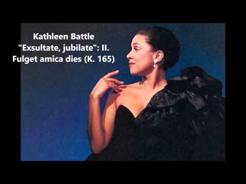 "Kathleen Battle: The complete ""Exsultate jubilate K. 165"" (Mozart)"