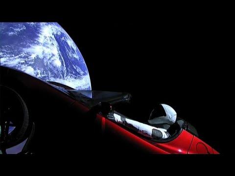 Un'automobile nello spazio,