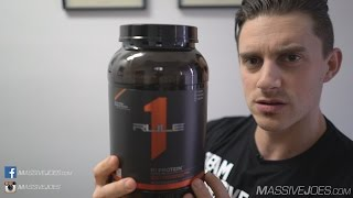 Rule 1 R1 Whey Protein Isolate Powder Supplement Review - MassiveJoes.com RAW Review WPI(Buy Rule 1 R1 Protein Here: https://massivejoes.com/shop/rule-1-r1-protein Visit our Website: http://MassiveJoes.com Like us on Facebook: ..., 2016-07-07T01:14:15.000Z)