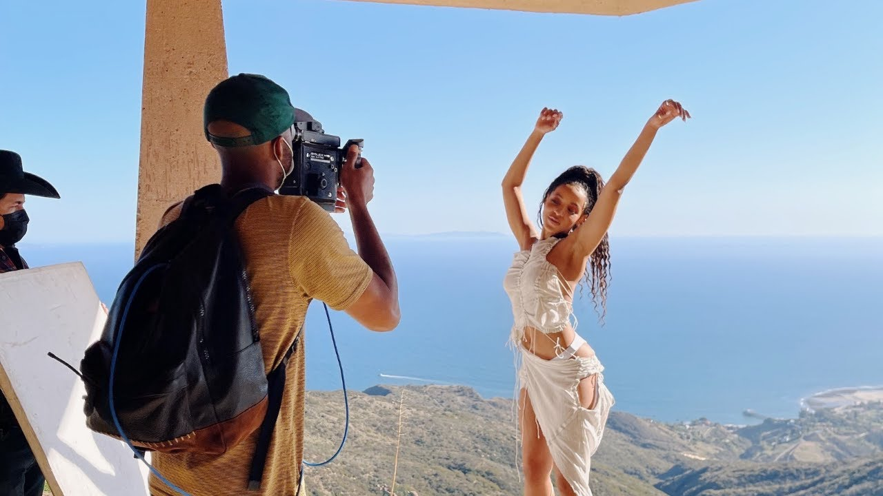 "Behind-The-Scenes of ""Pasadena"" with Tinashe and Micaiah Carter"