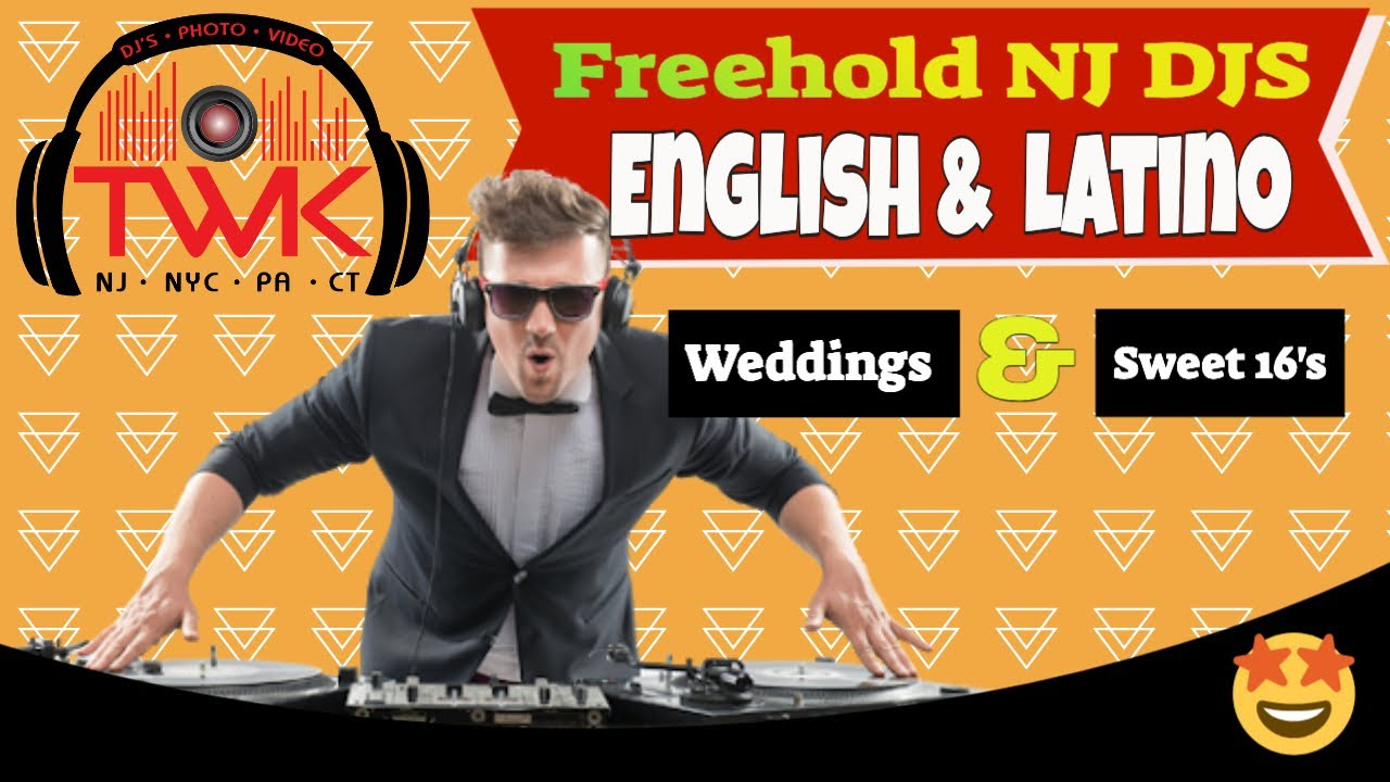🆕 DJs In Freehold NJ | Wedding DJs in Freehold | Bilingual DJs Freehold NJ