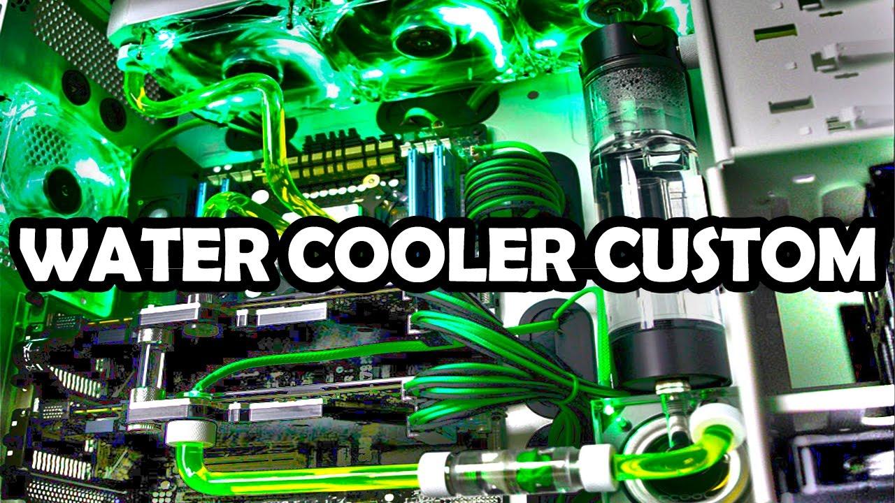 O Melhor Kit De Water Cooler Custom Que Voc 202 J 193 Viu Onde