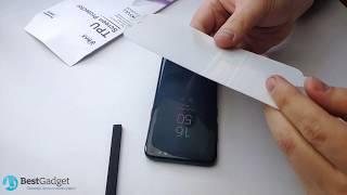 СТЕКЛО ФИГНЯ! Установка и ОБЗОР пленки VMAX Samsung Galaxy S10 S10e Plus S8 S9