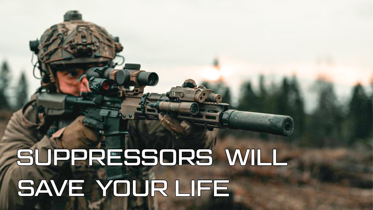 Suppressors Will Save Your Life