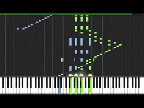 March from the Nutcracker - Pyotr Ilyich Tchaikovsky [Piano Tutorial] (Synthesia)