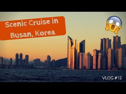 Scenic Boat Tour of Haeundae & Gwangalli Busan, Korea | Vlog #12