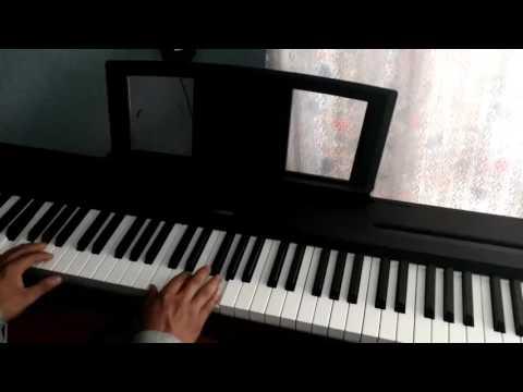 Le llaman guerrero- cadena -(fuego) Juan Carlos Alvarado- tutorial piano