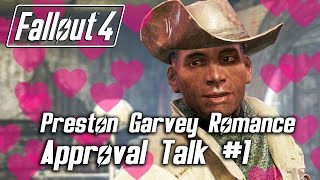 Fallout 4 - Preston Garvey Romance - Approval Talk #1