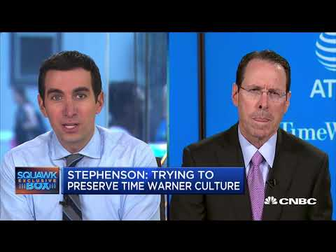 AT&T CEO Randall Stephenson On Time Warner Deal (Full Interview) | CNBC