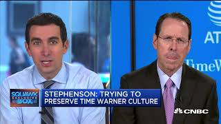 AT&T CEO Randall Stephenson On Time Warner Deal (Full Interview)