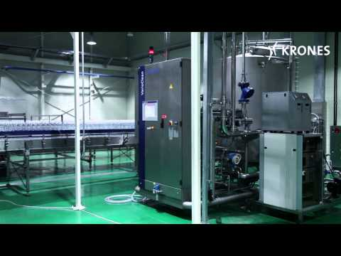 Krones turnkey water line in South Korea