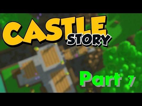 BRIDGE BUILDING! - Castle Story: Part 7