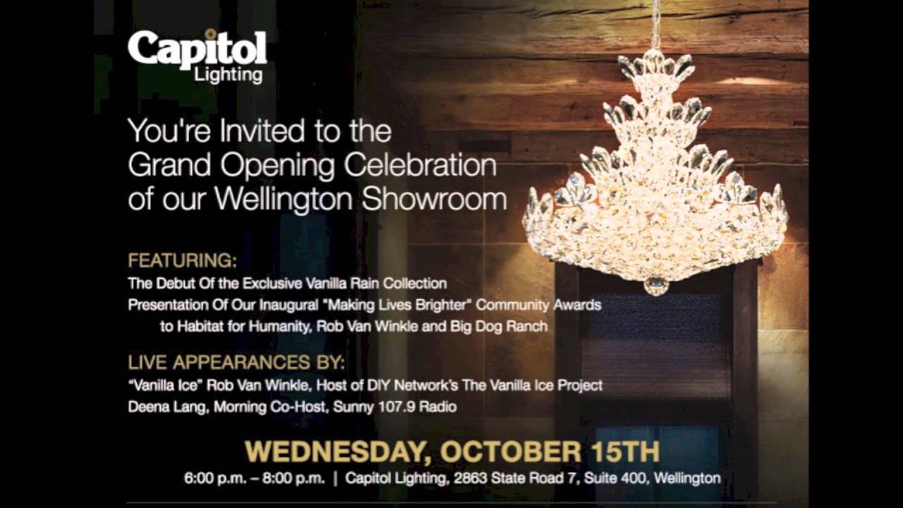 Wellington Grand Opening Celebration Invitation YouTube