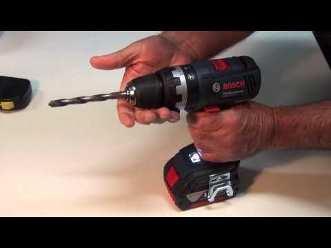 Bosch GSB 18V-EC Brushless Hammer Drill