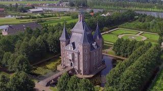 [DRONE VIDEO] Castle Heemstede in Houten, The Netherlands