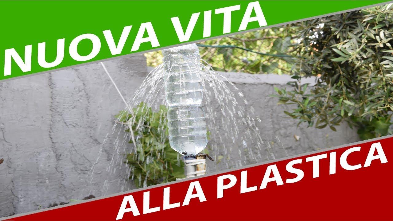Bagnare Piante Con Bottiglie irrigazione a pioggia con bottiglia di plastica - fai da te semplice  semplice