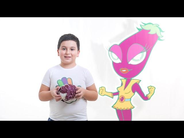 I cinque colori del Gusto e del Benessere - colore viola - video spot