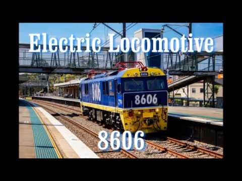 Electric Locomotive 8606