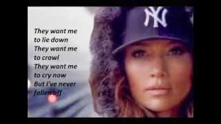Jennifer Lopez - Same Girl (Lyrics Video) 2014