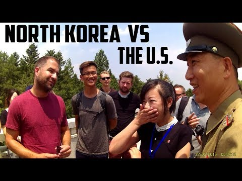 US Citizen and North Korean soldier debate nuclear attacks and more