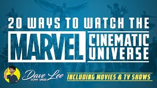 How To Watch Entire MARVEL CINEMATIC UNIVERSE (Movies, TV Shows, One-Shots Timeline)