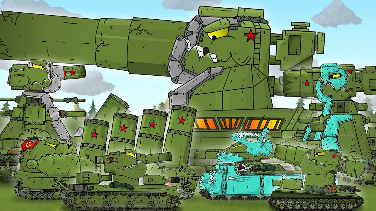 Сильнейшие Монстры Советов Все Серии - Мультики про танки