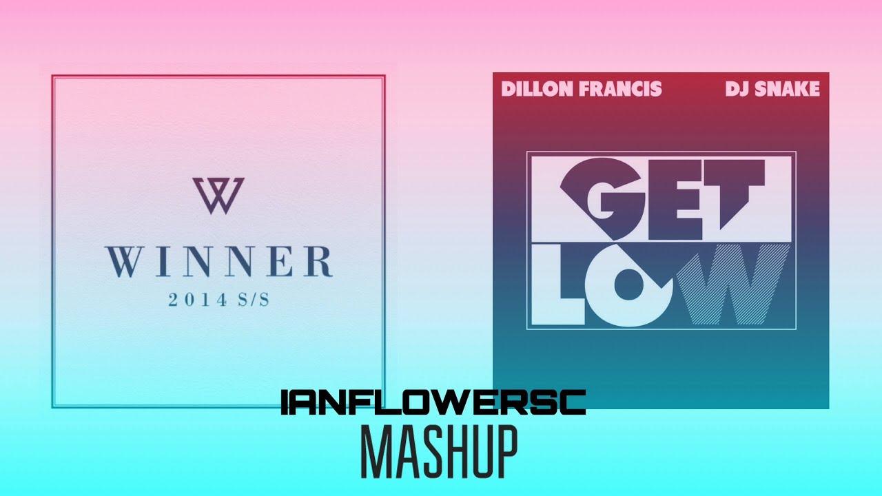 WINNER - 걔 세(I'M HIM) MINO SOLO vs Dillon Francis, DJ Snake - Get Low (IAN MASHUPS)