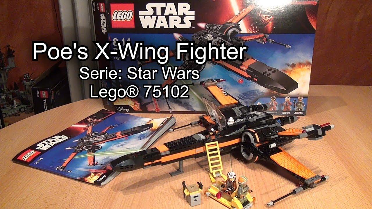 Lego star wars poe s x wing fighter review 75102 youtube - Lego Poe S X Wing Fighter 75102 Review Star Wars Test Deutsch