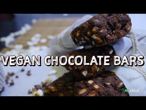 VEGAN CHOCOLATE BARS NO BAKING BARRETTE VEGANE SENZA COTTURA