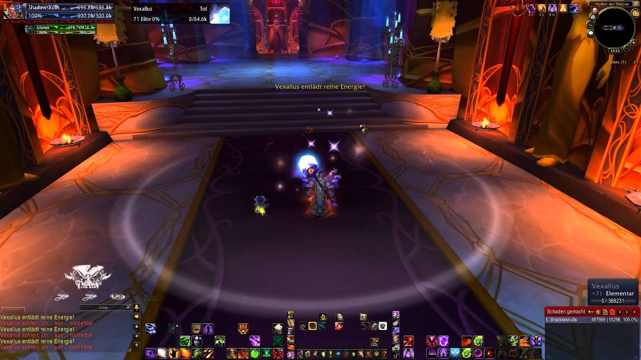 Let S Raid Wow 046 Terrasse Der Magister Youtube
