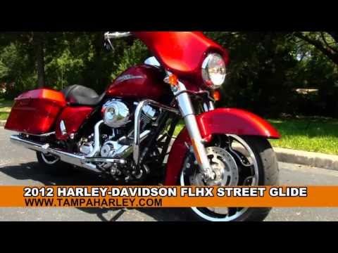 Used 2012 Harley Davidson FLHX Street Glide for Sale Motorcycles