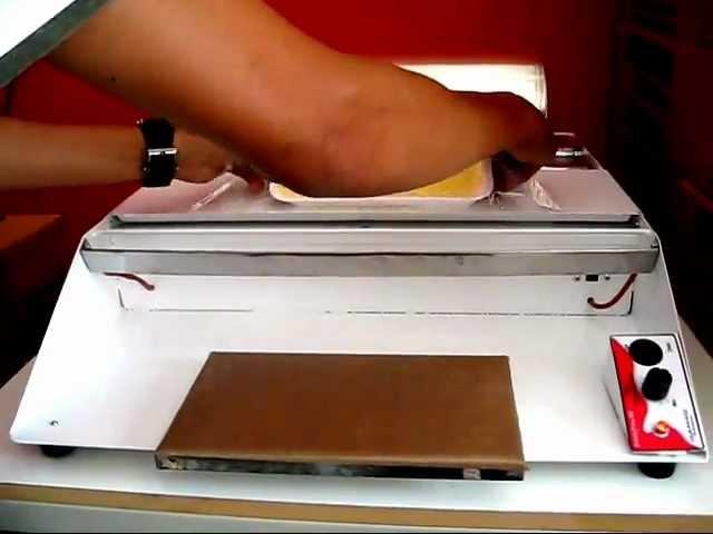 isamaq seladora - como usar uma embalafilme